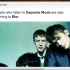 BREAKING: People Who Listen to Depeche Mode Are Also Listening to Blur