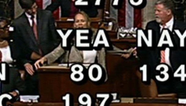 [Audio] Woman Escorted Out During Shutdown Vote in House Chamber Actually Most Cogent Person There