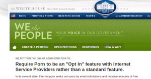 We the People clearly hate the unpopular pornography industry.