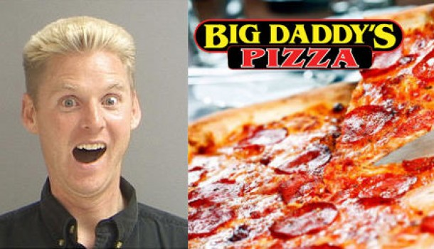 Erstwhile Entrepreneur Superdell Schanze Orders a Carryout Pepperoni Pizza