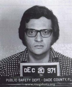 Larry King, arrested December 20, 1971 on charges of Grand Larceny.  Larry never left home without his lucky suspenders again.
