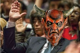 AWKWARD!: Satan, Prince of Darkness, Shows Up to 184th Annual General Conference