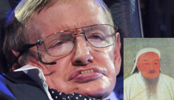 Stephen Hawking Warns That AI Will Breed A New Mechanoid Genghis Khan