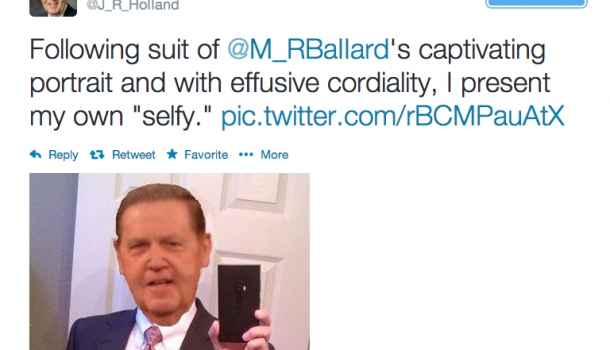 Is The Apostolic Selfy (sic) Proof That Good, Clean Fun Can Be Had On Twitter?