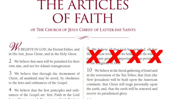 BREAKING: LDS Church Amends Articles of Faith, Removes the 9th