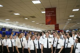 Salt Lake City Airport Gears Up for Return of 2012 Missionaries with Divine Construction