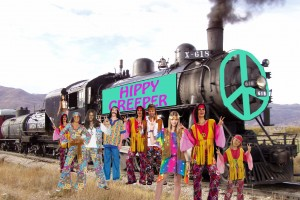 Members of the Rainbow Gathering wish they had come up with a better name than The Hippy Creeper