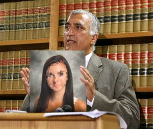 Salt Lake County District Attorney Sim Gill at yesterday's press conference.