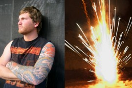 Local Man Not So Much Patriotic, Just Enjoys Watching Cool Shit Explode
