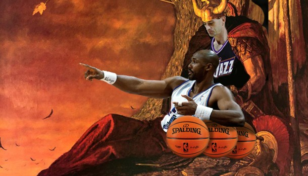 HIGH, ON THE MOUNTAIN TOP: Utah Jazz Cigarette