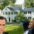 Pres. Obama Visits Utah To Build Huge White House Across The Street From Mitt Romney