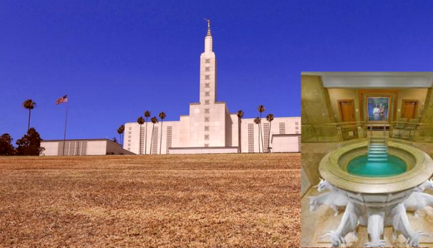 BREAKING: LDS Church Prepares To Baptize Dead Grass From LA Temple Lawn