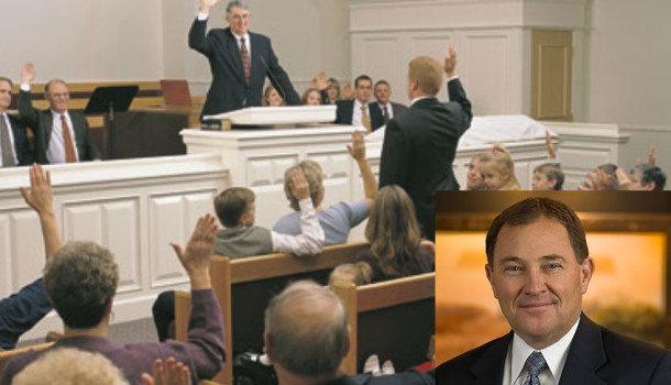 Gary R. Herbert Unanimously Confirmed As Prophet, Seer And Governor