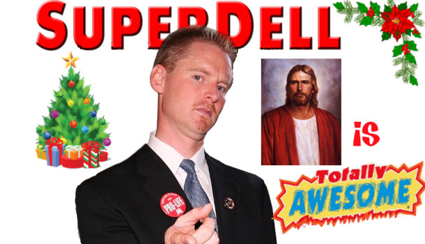 In His Words: SUPERDELL On The War On Christmas