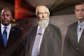 God Has Awkward Encounter With Both Men He Endorsed For President