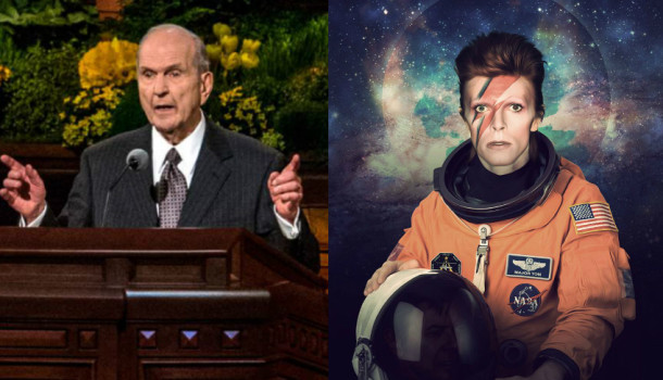 """Pres. Nelson: """"Apostate David Bowie Headed To The Telestial Kingdom"""""""