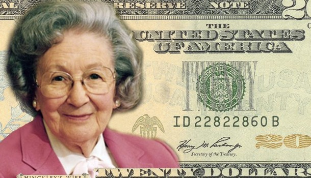 Local Nonprofit 'NonProphet' Pushes For Wife of Gordon B. Hinckley on $20 Bill