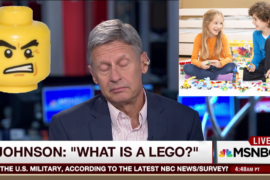 "Primary Kids Aghast After Gary Johnson's ""What Is A LEGO?"" Gaffe"
