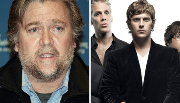 Steve Bannon: Everyone Needs to Keep Their Mouths Shut and Just Listen to Matchbox 20 For a While